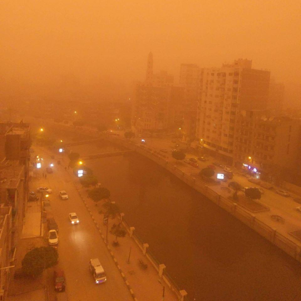 Піщана буря в Єгипті / facebook.com/ExploreFayoum