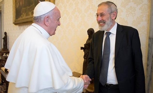 Папа Франциск и раввин Ди Сеньи / oss_rom