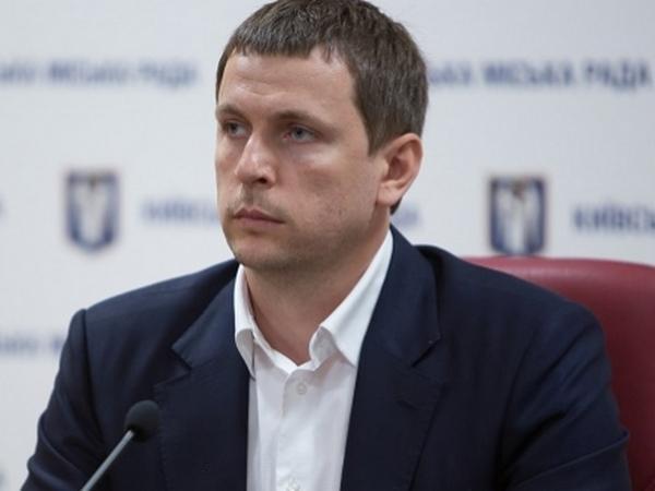 Директор Департаменту транспортної інфраструктури Київської адміністрації Сергій Симонов