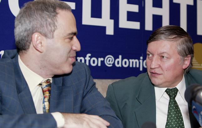 Карпов ответил Каспарову на призыв к бойкоту ЧМ-2018 / РИА Новости
