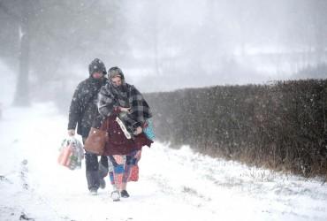 Погода в Україні 18 березня буде сніжною і морозною (відео)