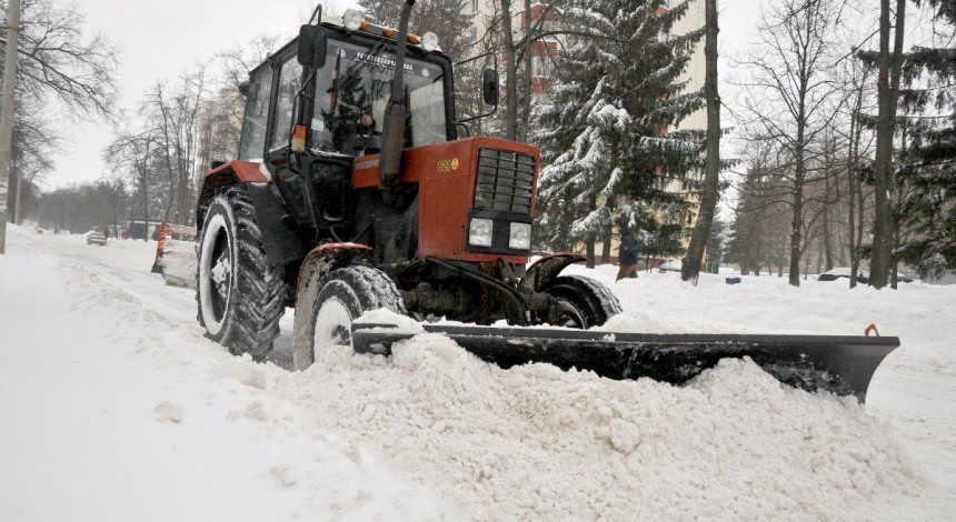 На Харківську область насувається потужний сніговий циклон