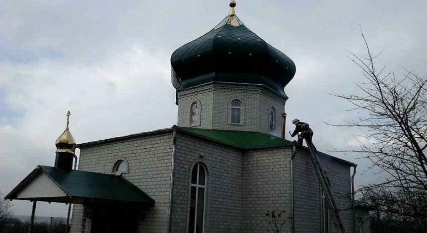 В Винницкой области спасатели ликвидировали пожар в храме