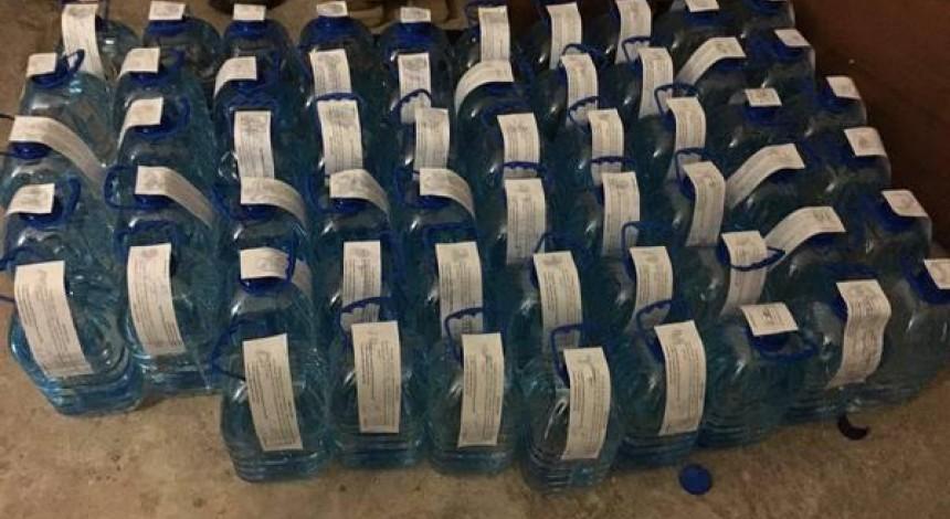 В Харькове разоблачили подпольный водочный цех, изъяв более 3 тысяч литров спирта