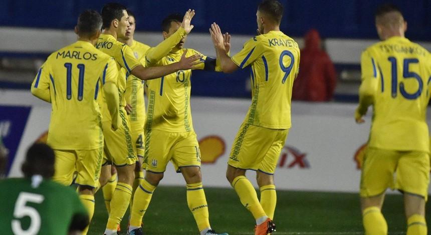 Сборная Украины не смогла обыграть Саудовскую Аравию в товарищеском матче