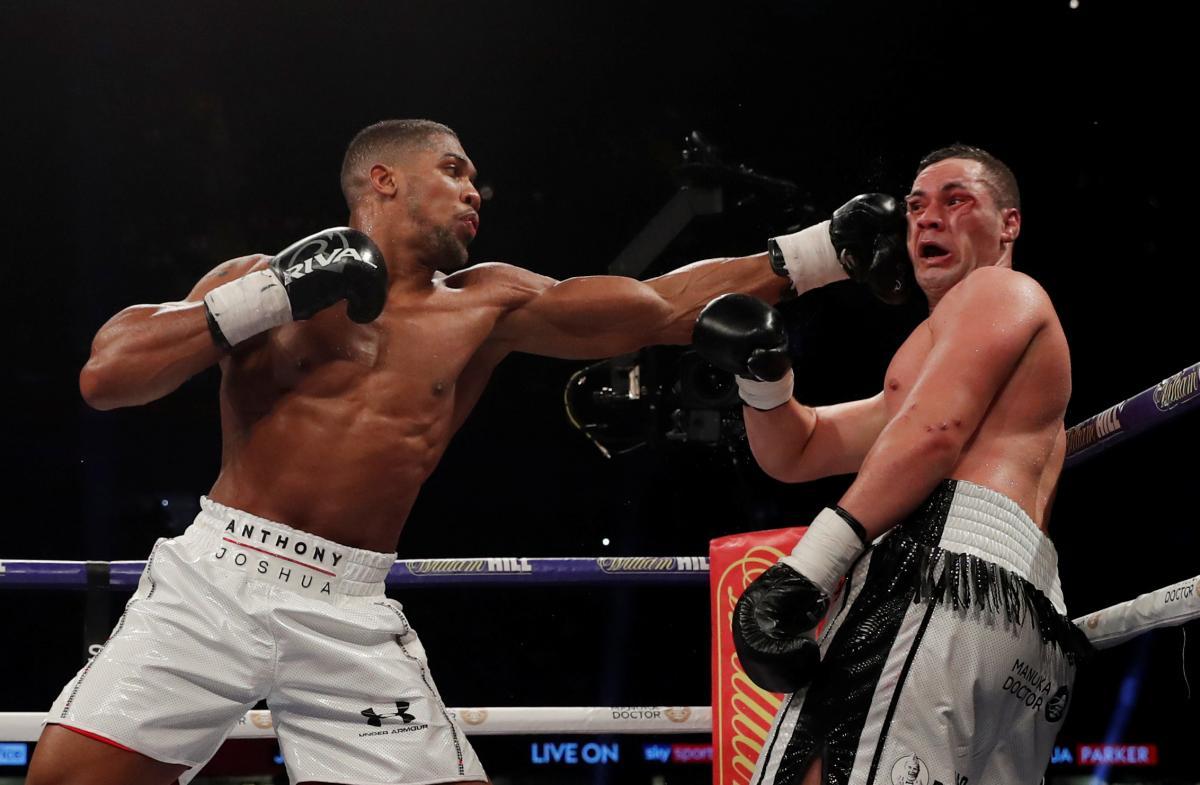 Джошуа выиграл у Паркера по очкам единогласным решением судей / Reuters
