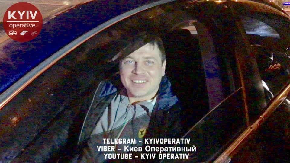 ВКиеве авто дипломатического представительстваРФ попало вДТП
