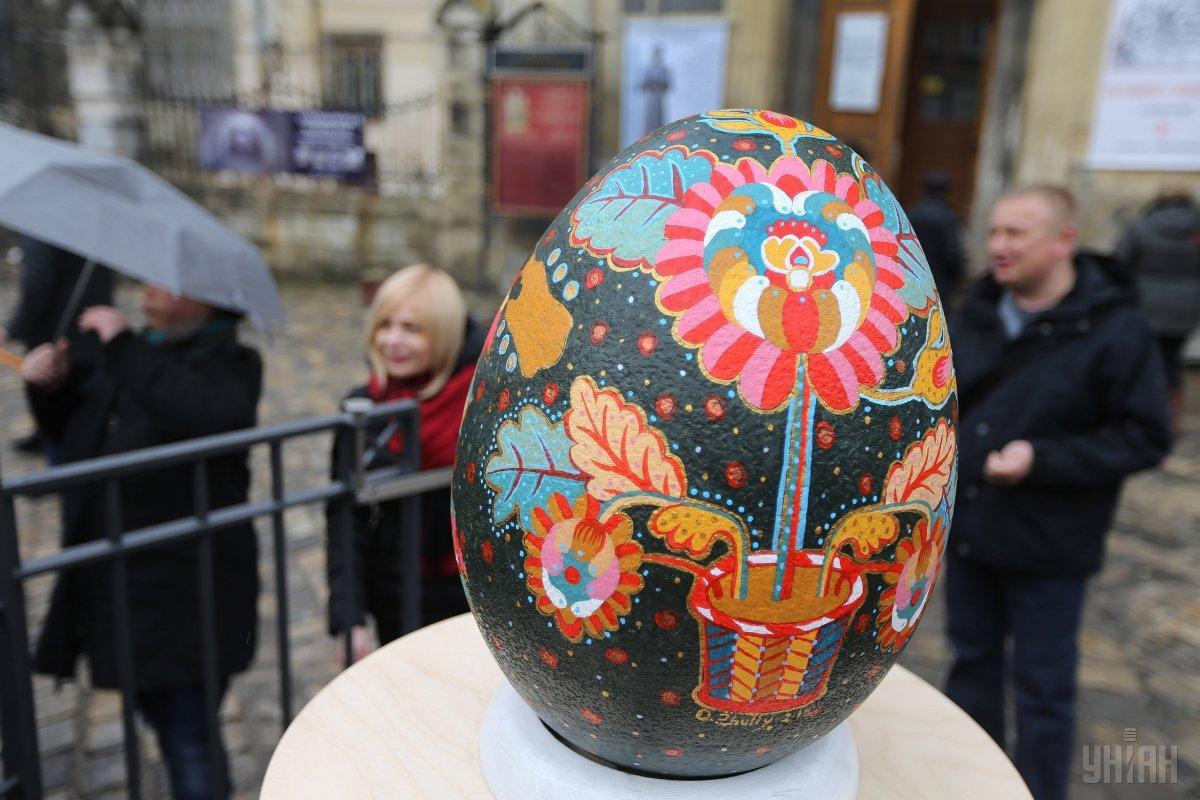 С5 по22апреля вКиеве пройдет Всеукраинский фестиваль писанок