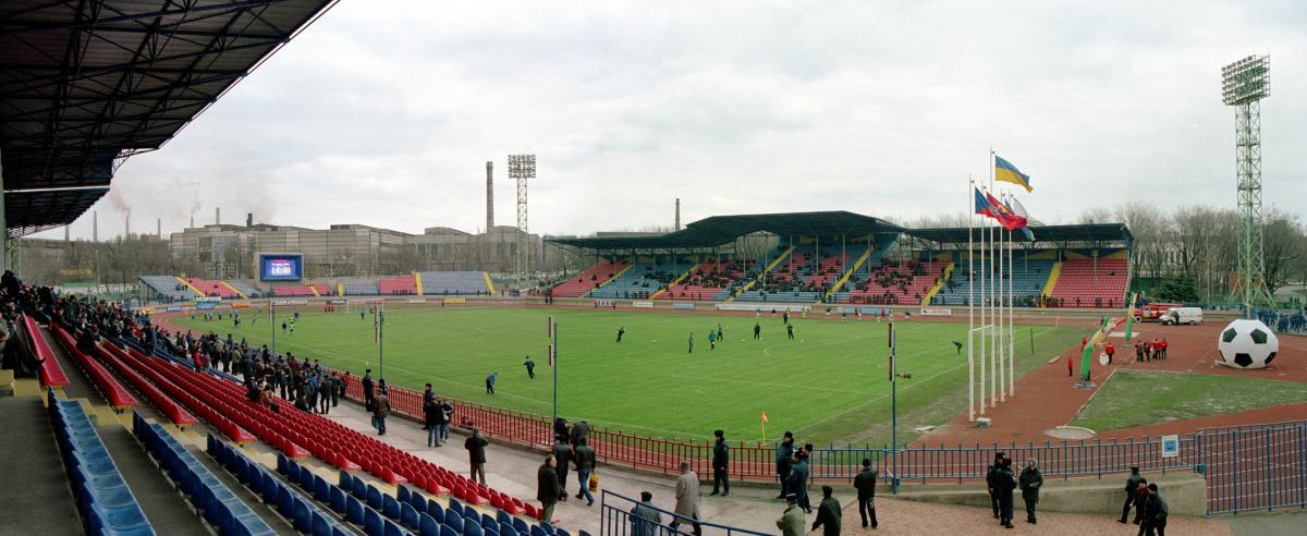 Стадион имени Бойко в Мариуполе / ua-1.com