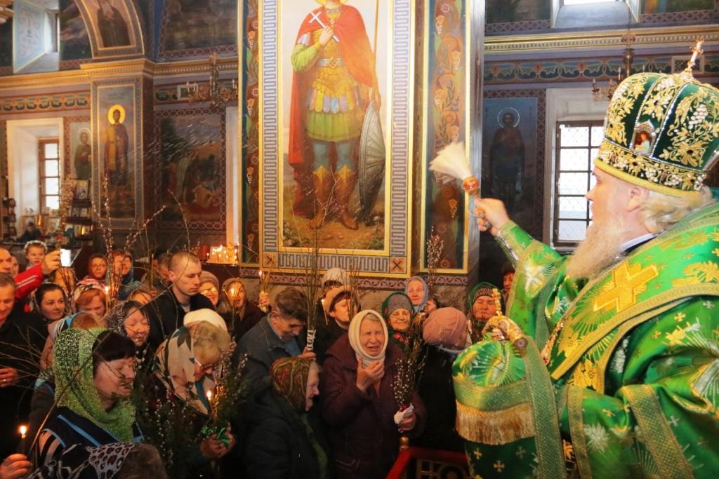 Вербное воскресенье в Кропивницком / orthodox-kr.org.ua