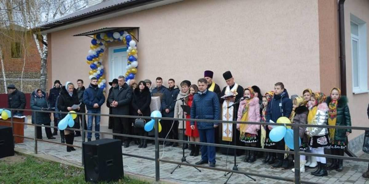 У грудні 2017 року в селі Горошова Борщівського району відкрили амбулаторію сімейної медицини, яка обслуговуватиме усіх мешканців Мельнице-Подільської громади / фото: прес-служба ТОДА