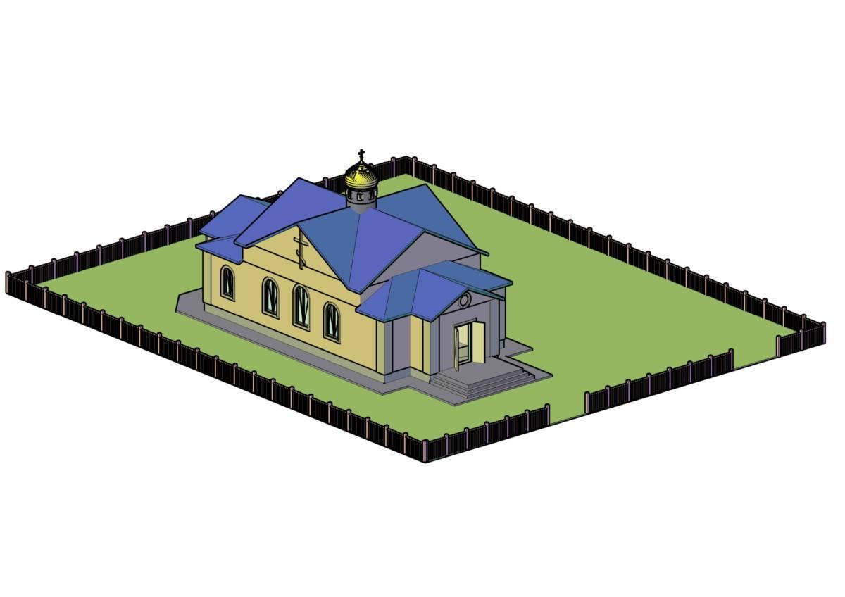 Проект храма в селе Куты / bf-favor.org