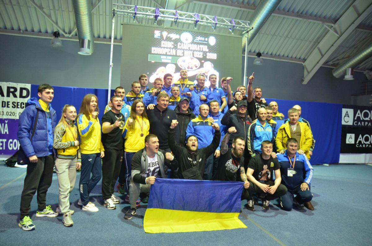 Збірна України з боксу завоювала вісім медалей на чемпіонаті Європи / Ukrainian Boxing Federation