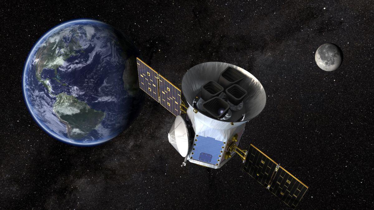 Космічний телескоп TESS (Transiting Exoplanet Survey Satellite) / фото REUTERS