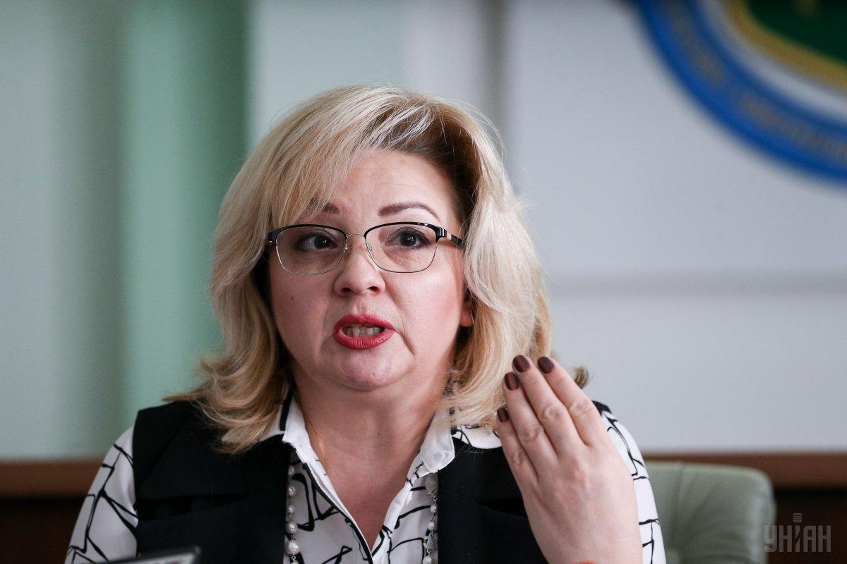 Гаврилова отчиталась о своих доходах / фото УНИАН