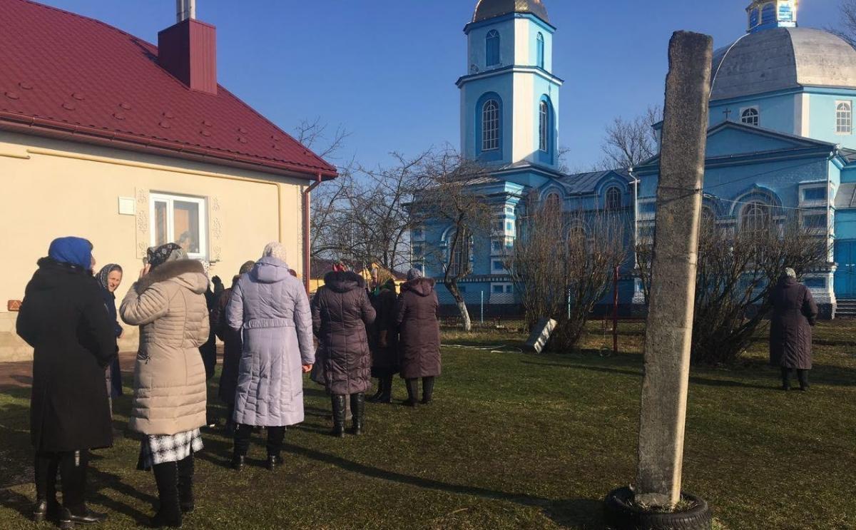 Захват храма в Птичья / spzh.news