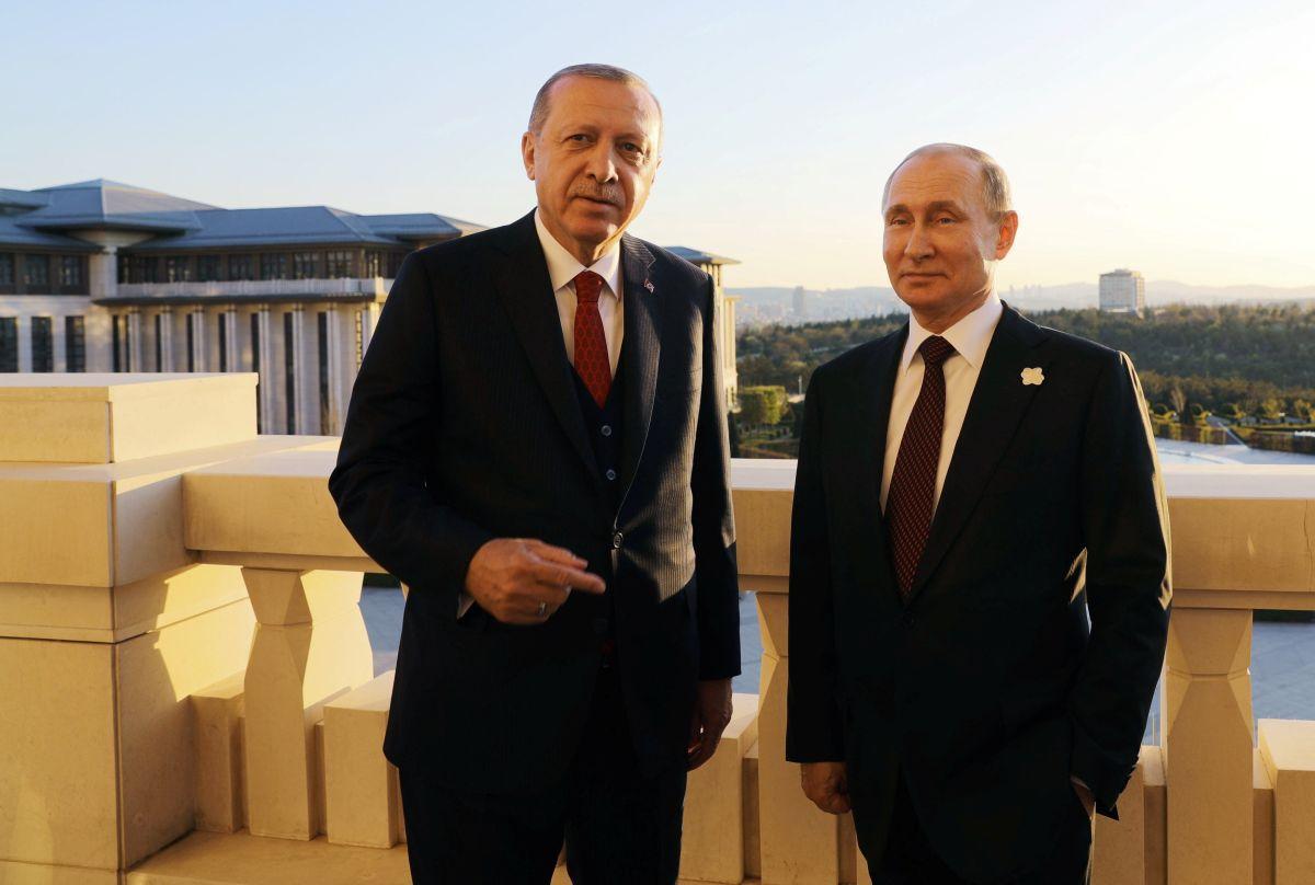 Реджеп Эрдоган и Владимир Путин / REUTERS
