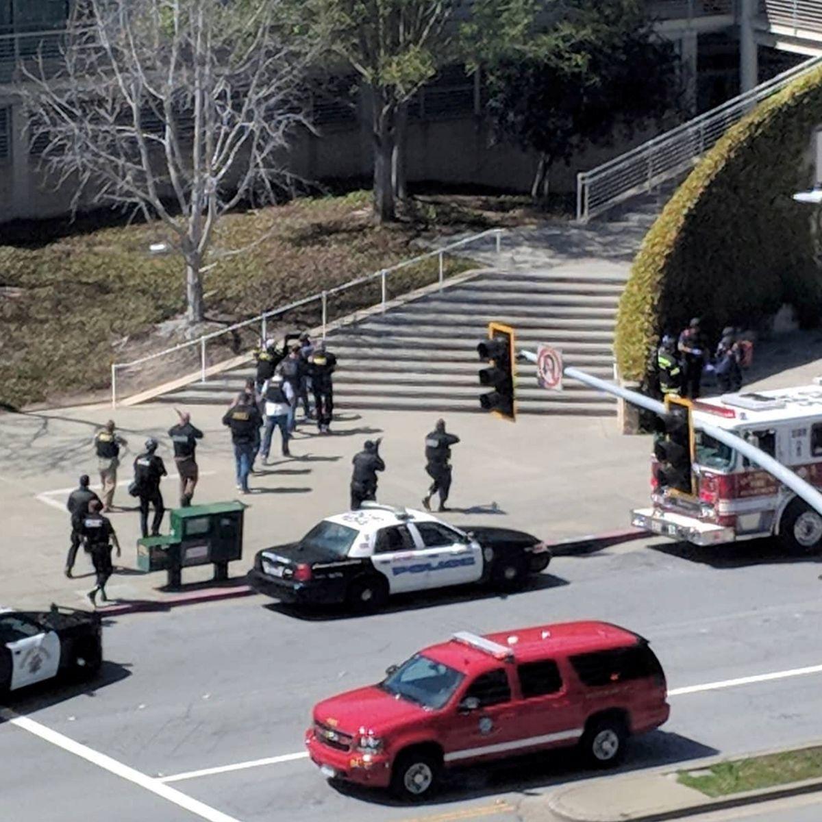 Возле офиса YouTube произошла стрельба / REUTERS