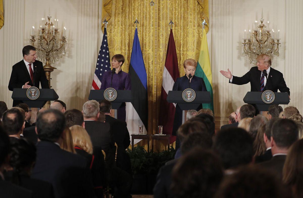 Президенты стран Балтии попросят уТрампа комплексы Патриот