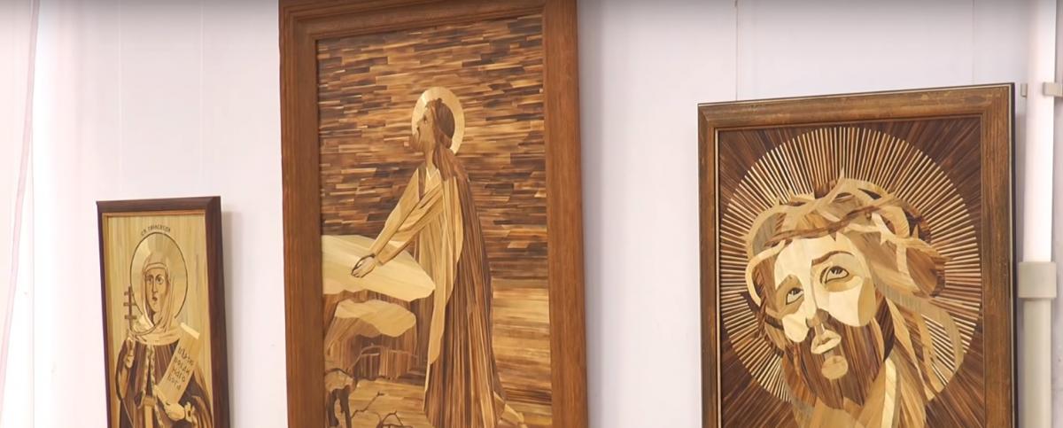 В Ивано-Франковске презентовали выставку соломенных икон / kurs.if.ua