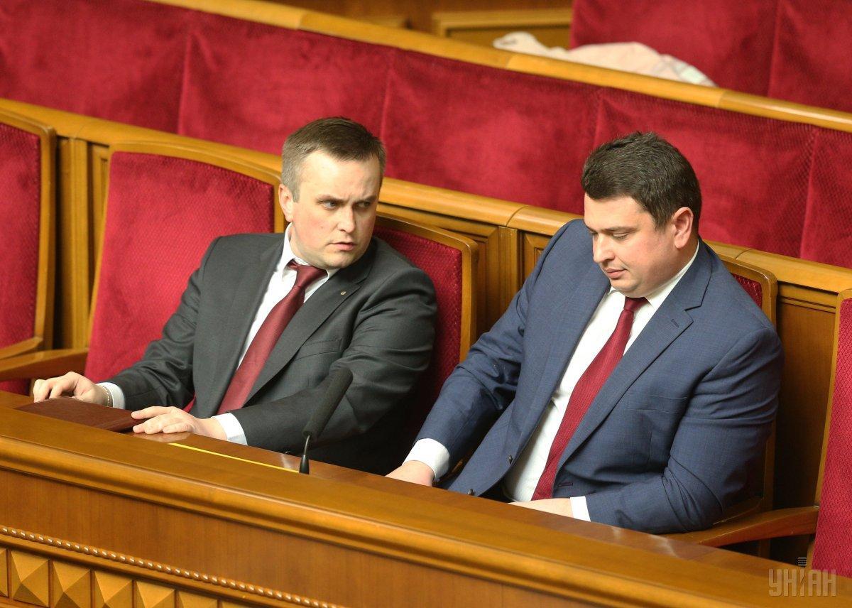 Назар Холодницький та Артем Ситник остаточно посварились / УНІАН