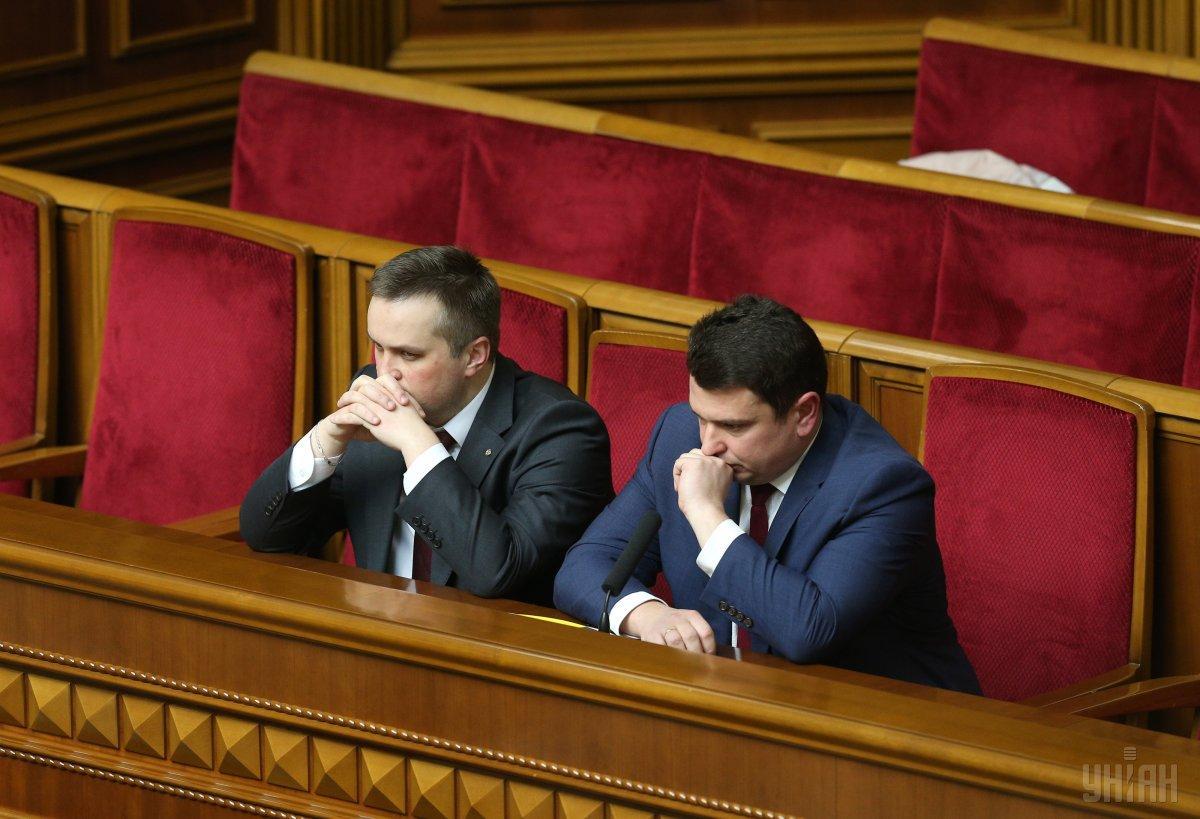 Голова САП НазарХолодницький і директор НАБУ Артем Ситник / фото УНІАН
