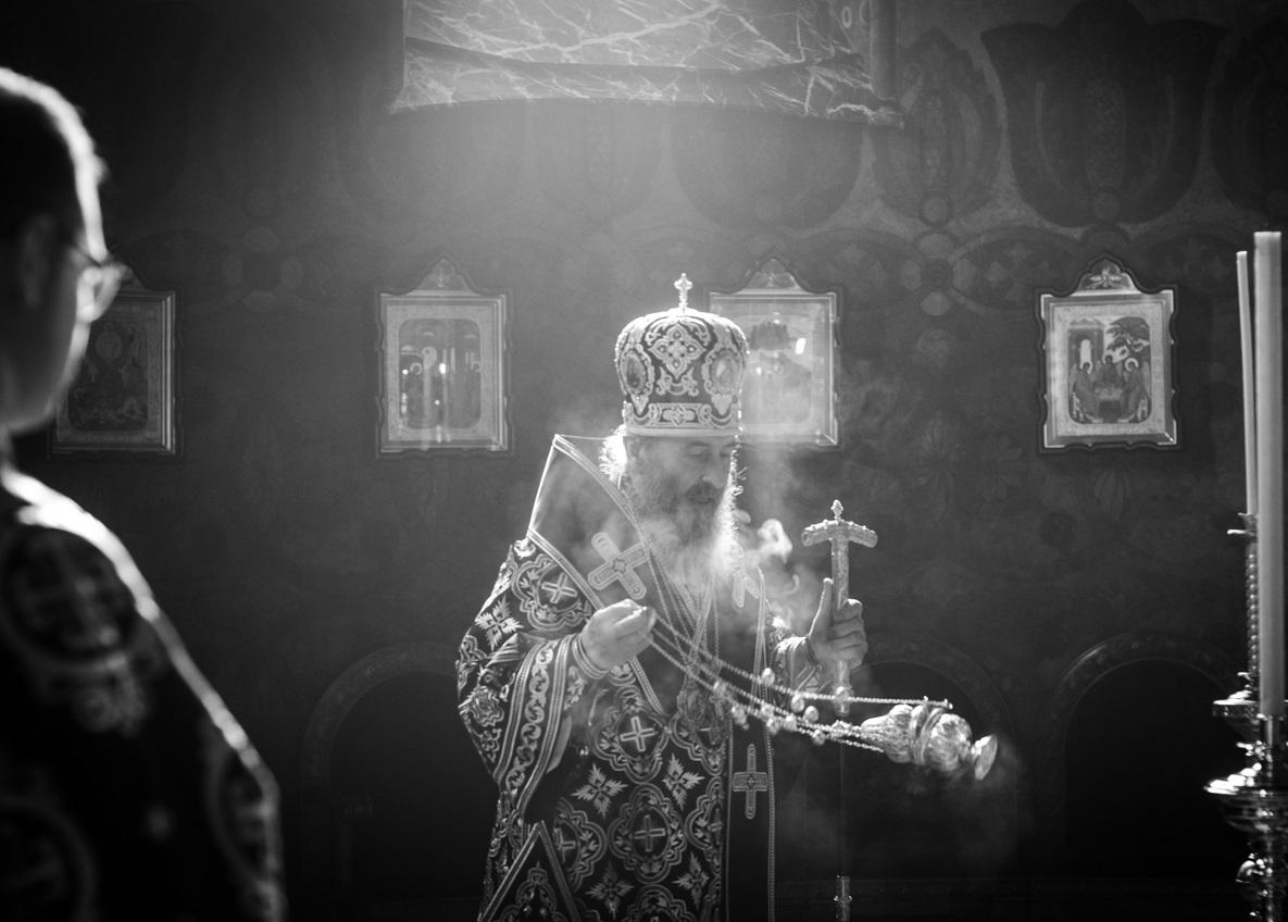Предстоятель очолив останню у цьому році літургію Передосвячених Дарів / news.church.ua