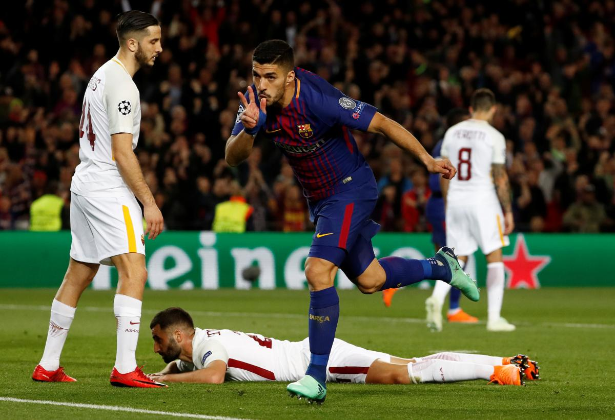 """""""Барселона"""" разгромила """"Рому"""" в матче Лиги чемпионов / Reuters"""