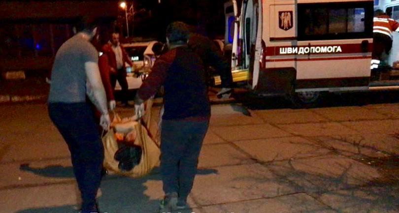 Раненого срочно госпитализировали \ Киев оперативный