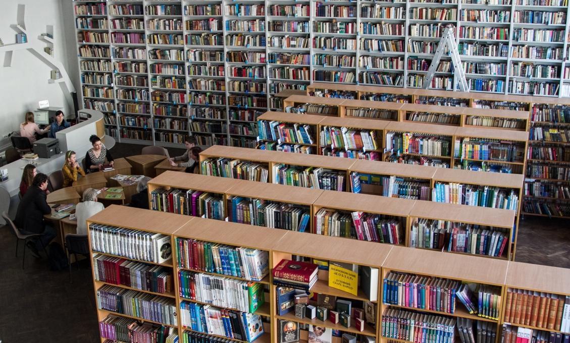 Сьогодні - Всеукраїнський день бібліотек / фото kyivcity.gov.ua