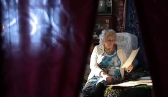 Бабушка до сих пор ждет повышение пенсии / Скриншот