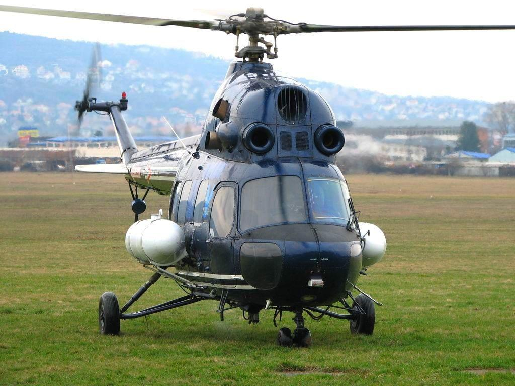 В России упал вертолет Ми-2 / фото MilitaryArms.ru