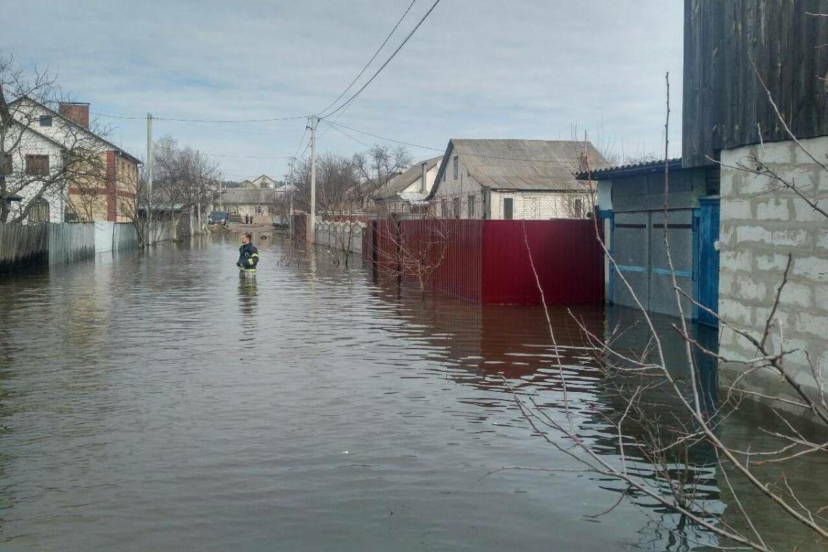 На Чернігівщині більше 30 домогосподарств залишаються підтопленими / ДСНС