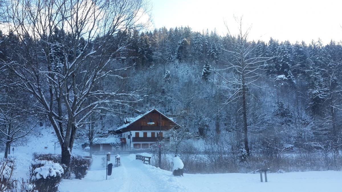 Особенно красиво в Фюссене зимой / фото Марина Григоренко