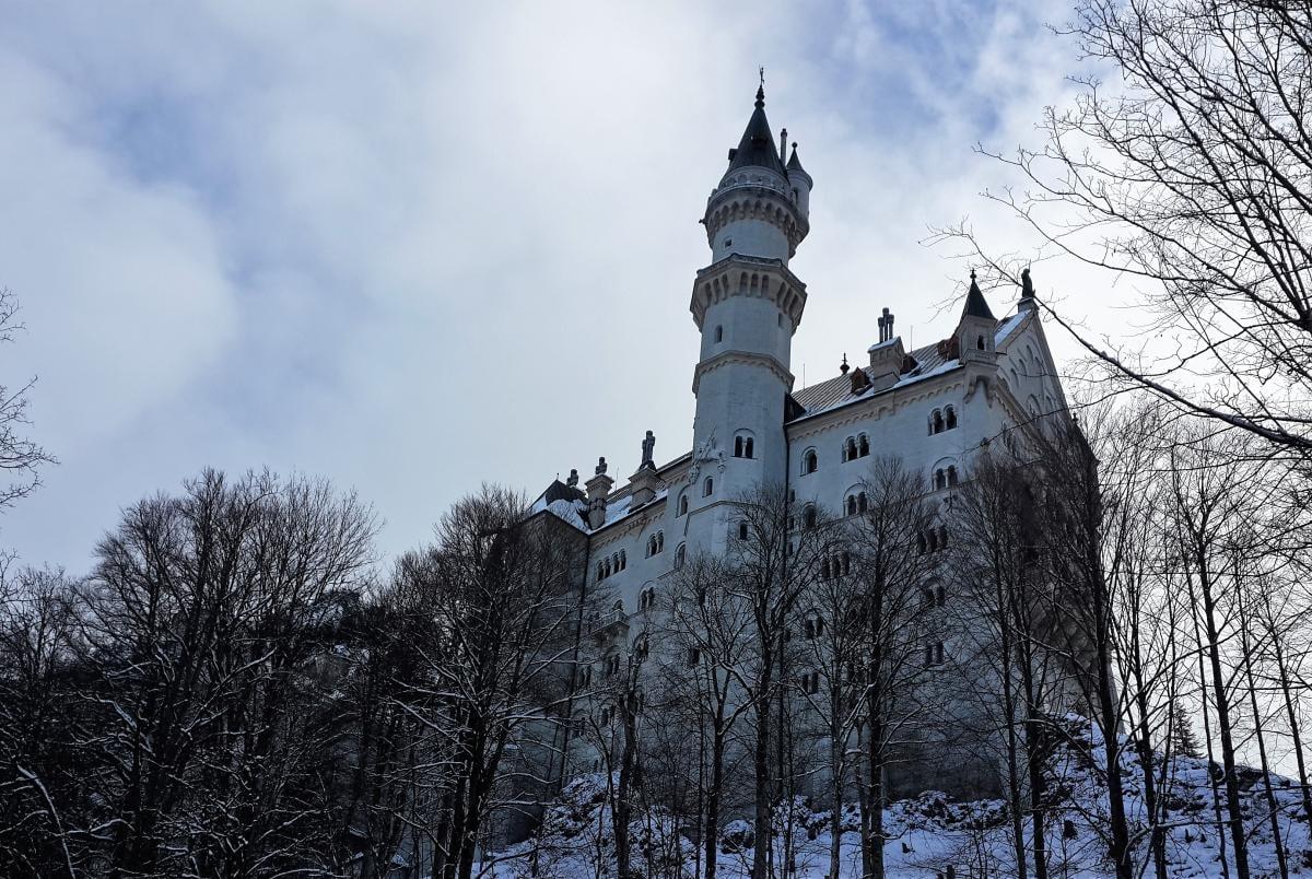 Замок Нойшванштайн во всей красе / фото Марина Григоренко