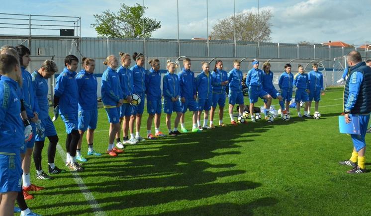 Женская сборная Украины обыграла команду Хорватии в Задаре / ffu.ua