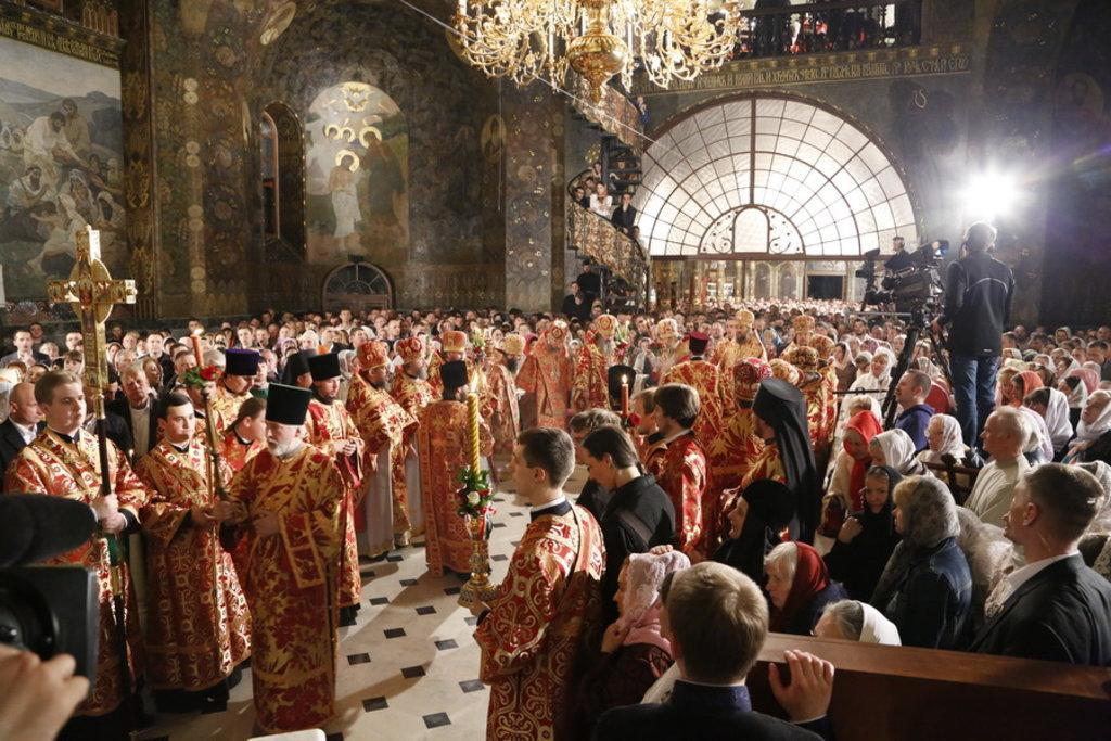 Пасхальное богослужение / news.church.ua