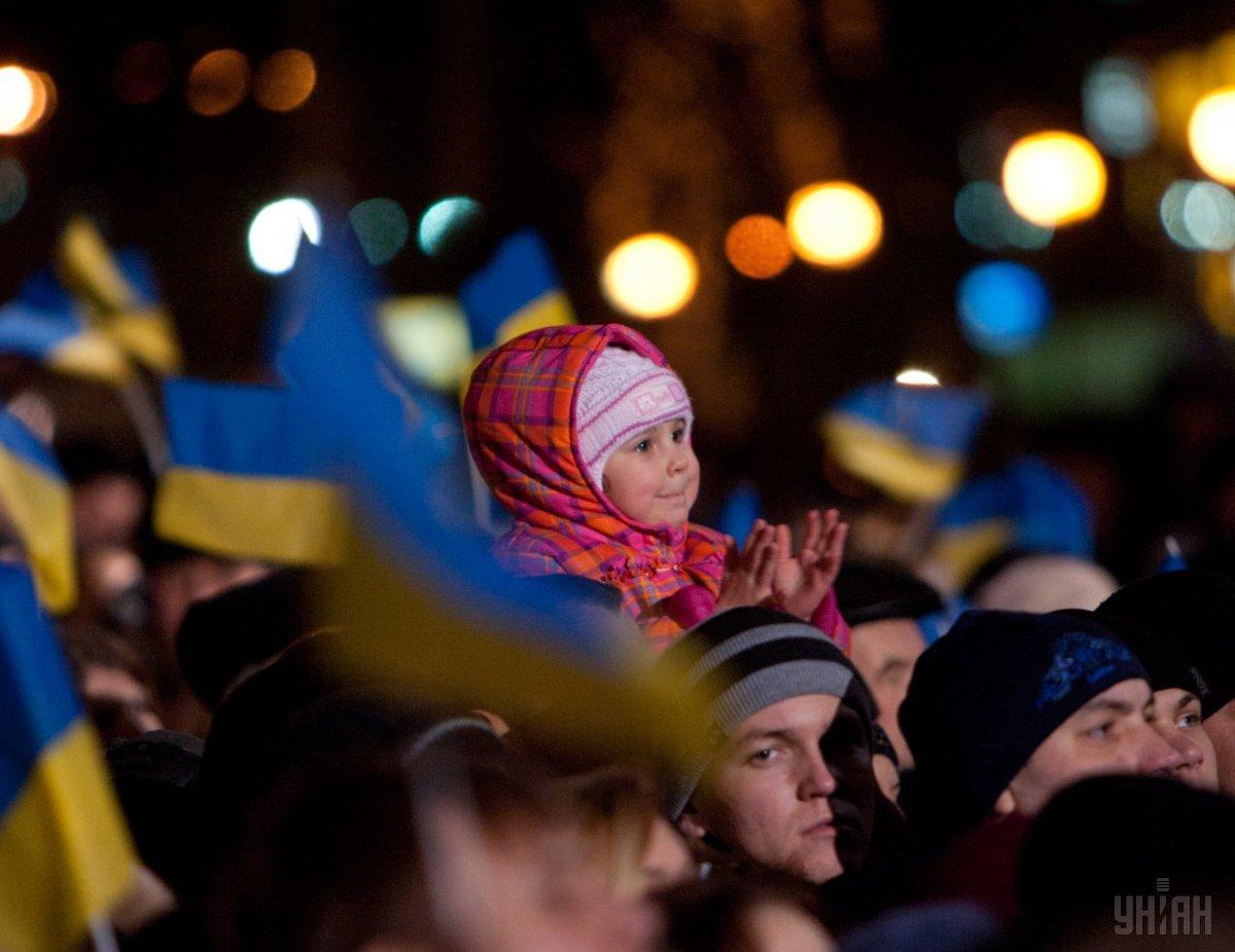 За последний год численность населения Украины сократилась более чем на 200 тысяч человек / фото УНИАН