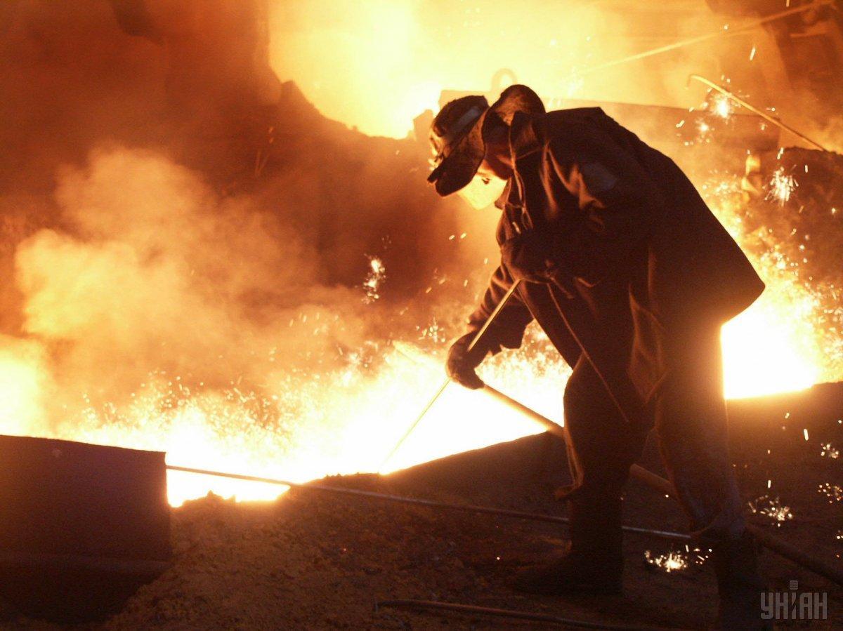 В прошлом году украинские металлурги произвели рекордно низкое количество стали за годы независимости / фото УНИАН