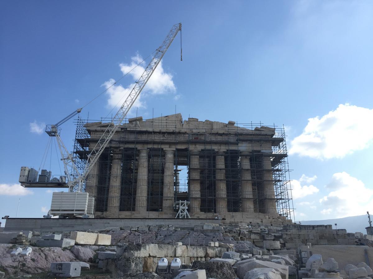 ЮНЕСКО использует изображение Парфенона в качестве своей эмблемы / фото Маргарита Андреева