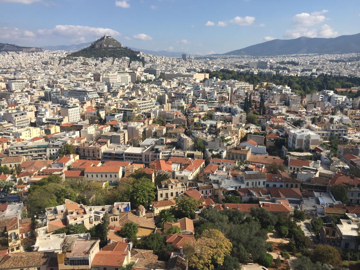 Aegean Airlines выполняет рейсы из Киева в Афины дважды в неделю / Фото Маргарита Андреева