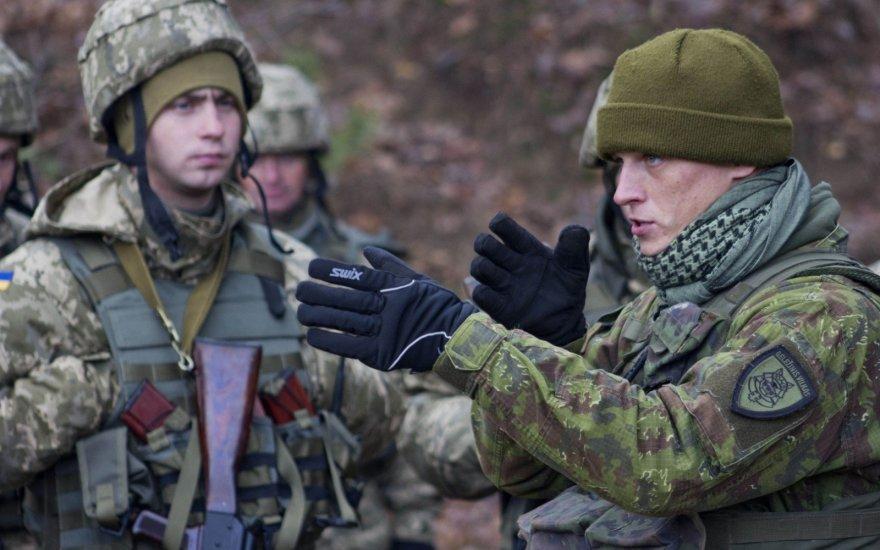 Литва направляет в Украину новую группу военных инструкторов / фото JAV Armijos nuotr