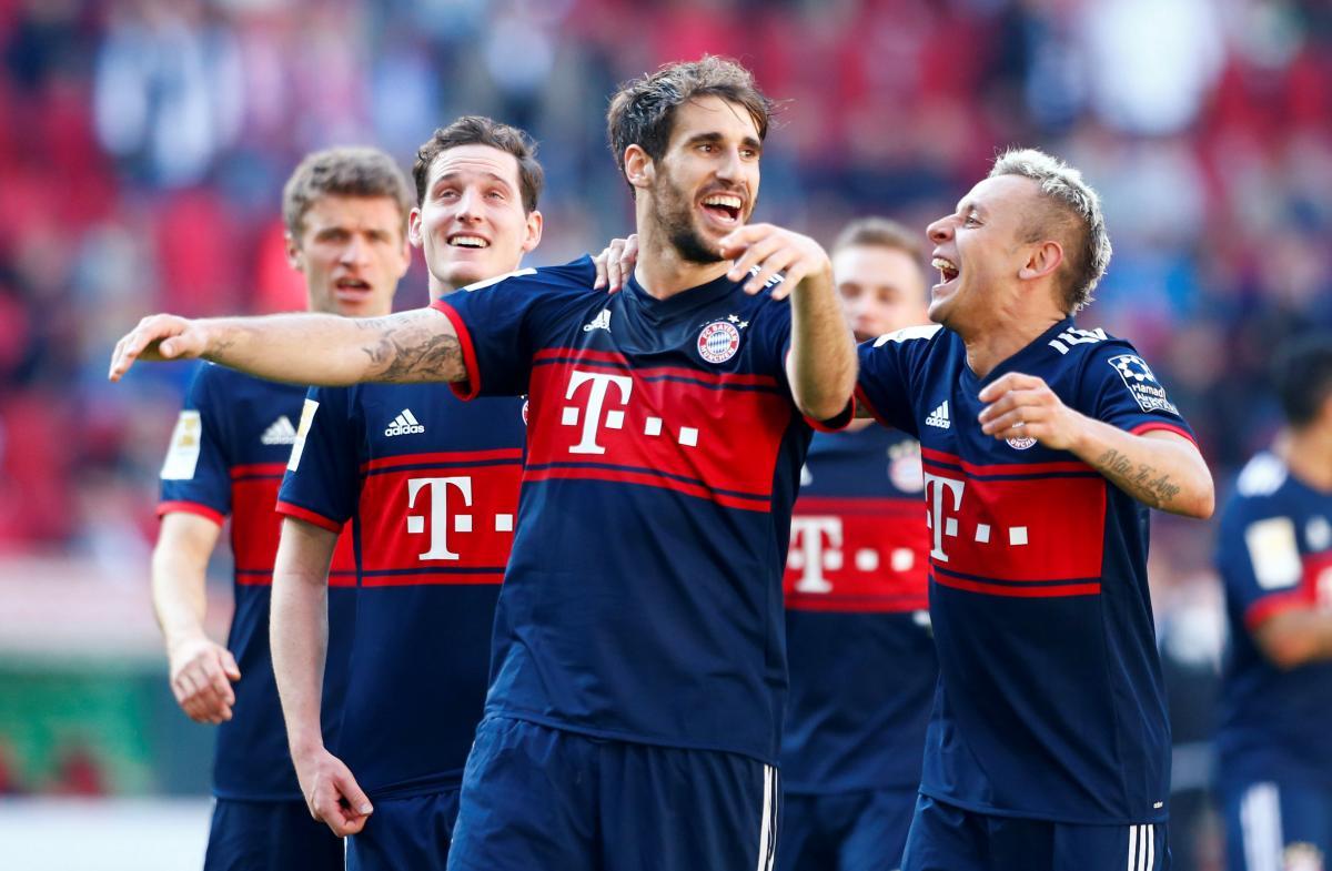 """""""Баварія"""" в шостий раз поспіль виграла титул чемпіона Німеччини / Reuters"""