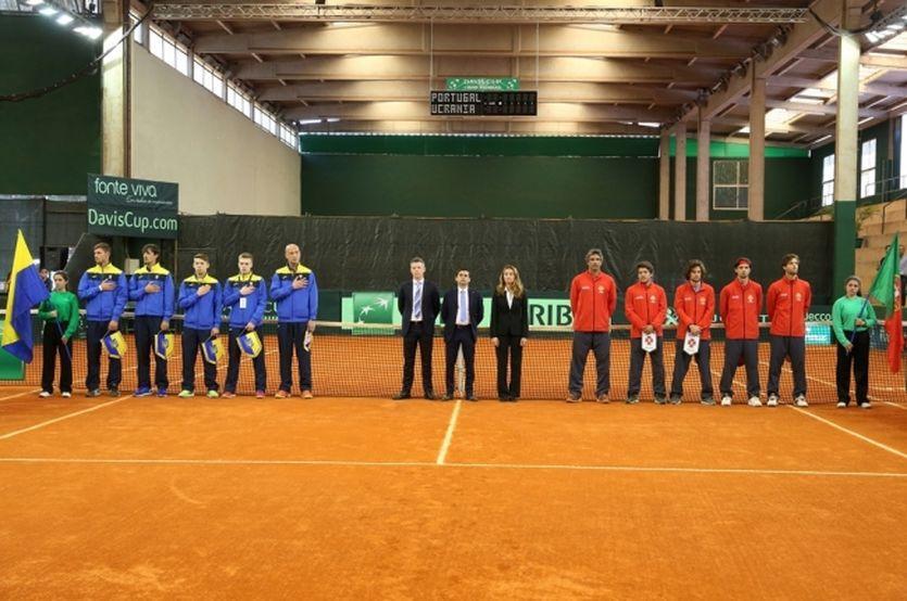 Сборная Украины сыграет c Португалией в Кубке Дэвиса / Isport