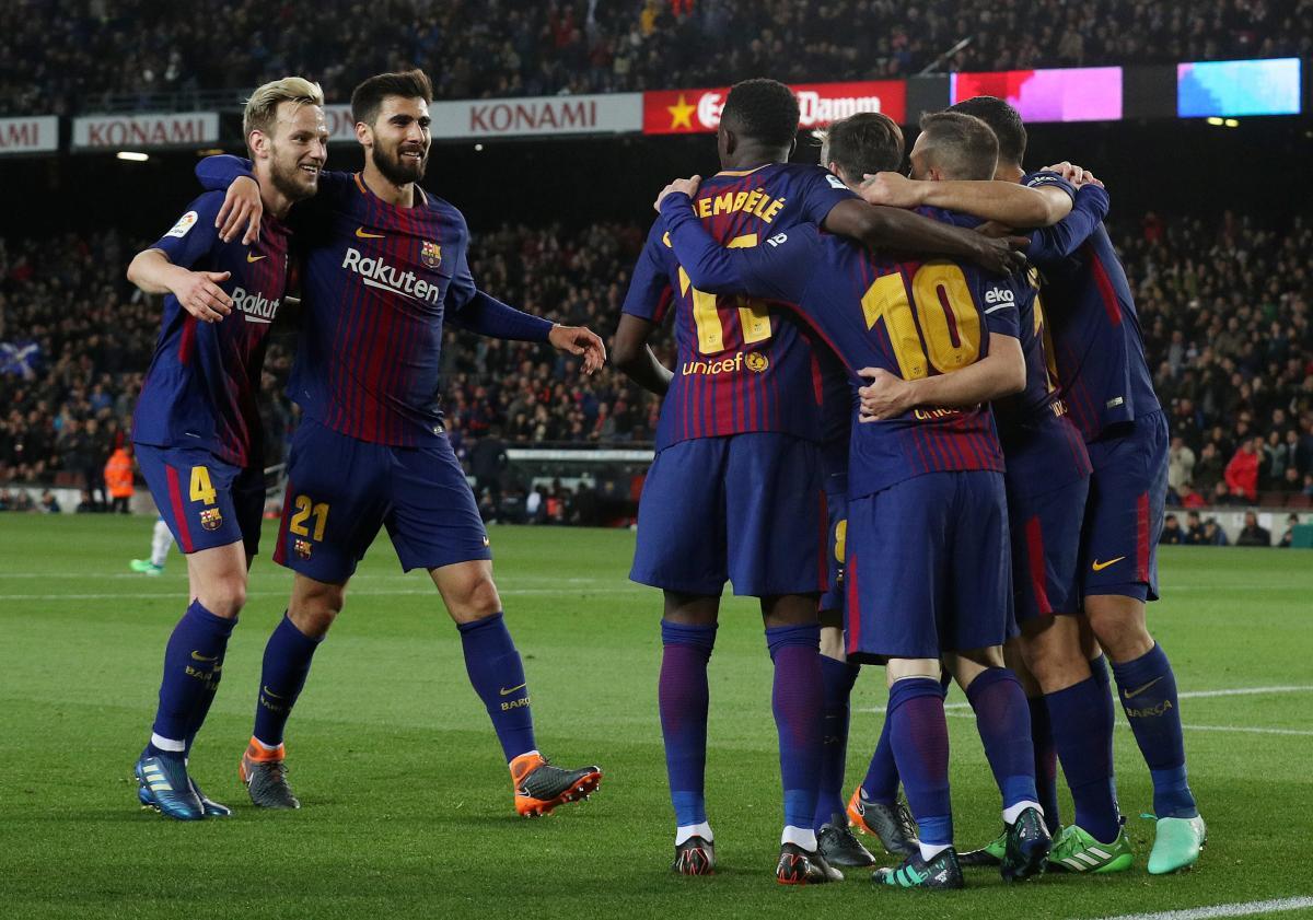 """""""Барселона"""" повторила давній рекорд чемпіонату Іспанії / REUTERS"""