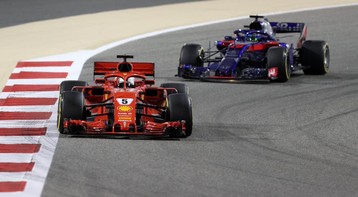 Себастьян Феттель посів перше місце на Гран-прі Бахрейну / REUTERS