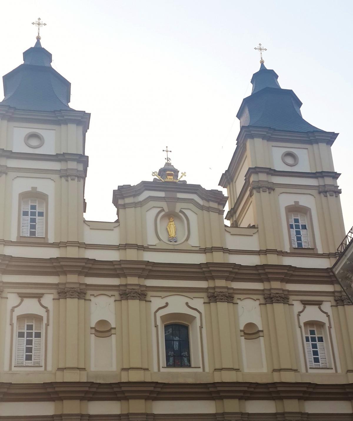 Єзуїтський костел в Івано-Франківську