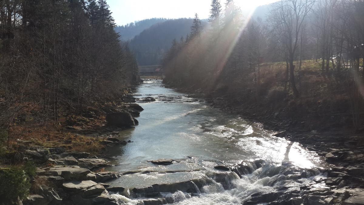 На реке Прут может повыситься уровень воды / Фото Марина Григоренко
