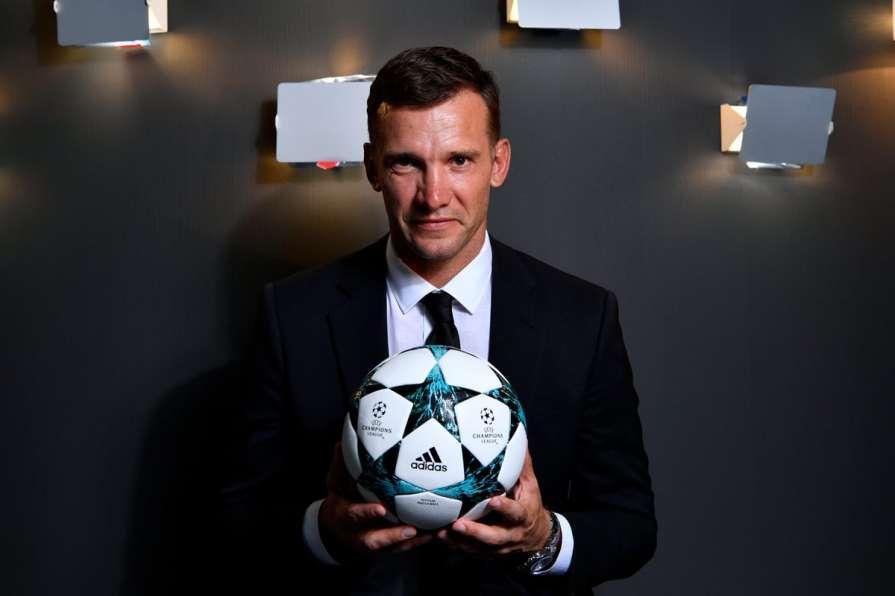 Андрей Шевченко / пресс-служба УЕФА