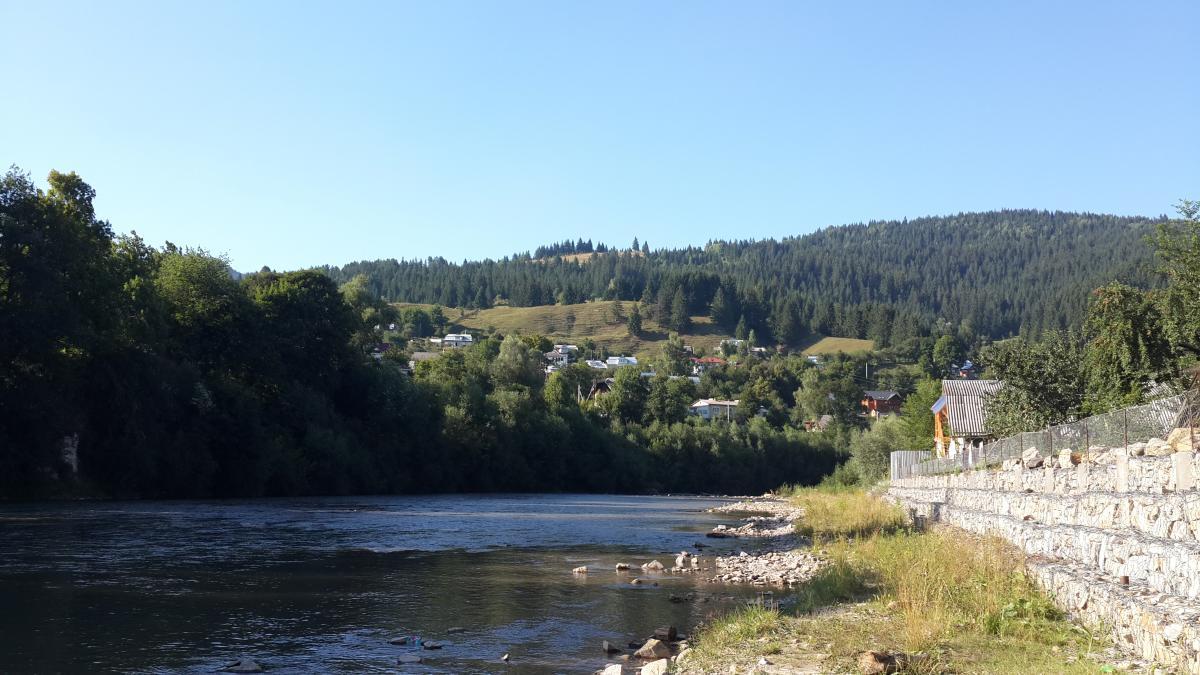 Річка Чорний Черемош в Верховині